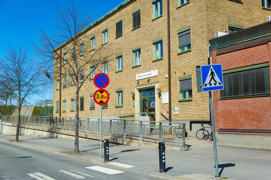 Samhällsbyggnadsförvaltningens förvaltningskontor. Foto: Josefine Karlsson